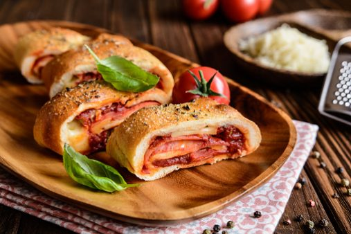 Calzones made fresh-to-order